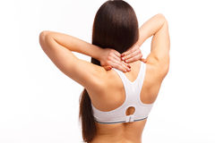 Back and spine disease Stock Images