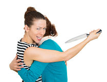 Back-stabber Royalty Free Stock Images