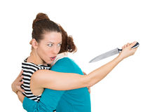 Back-stabber Royalty Free Stock Photo
