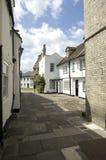 Back street Cambridge Cambridgeshire UK Royalty Free Stock Photography