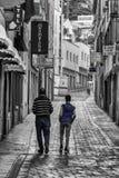 Back street Gibraltar.  Royalty Free Stock Photo