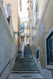 Back street in Lisbon. Stock Image