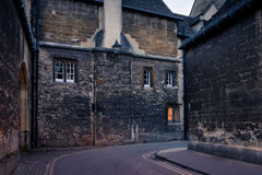 Back street of Oxford Stock Photos