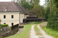 Back Streets of Bad Hall. Austria Stock Images