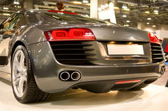 Back of supercar Stock Photography