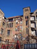 Back  of Tacheles in Berlin Royalty Free Stock Photography