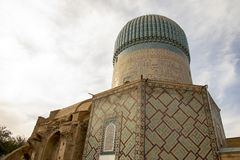 Back of Gur Emir, Samarkand, Uzbekistan royalty free stock photography