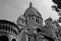 Back of theSacre Coeur Stock Images