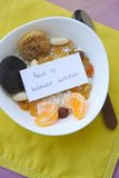 Back to balanced nutrition Royalty Free Stock Images