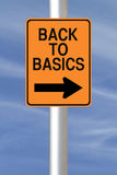 Back to Basics Royalty Free Stock Image