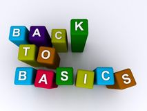 Back to basics Royalty Free Stock Images