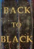 Back to black stock illustration