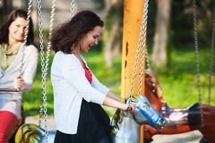 Back to childhood Royalty Free Stock Photography