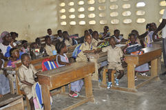 BACK TO CLASS IN IVORY COAST Royalty Free Stock Image