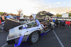 Back to Future Anniversary Royalty Free Stock Photography
