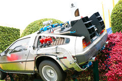 Back to the Future DeLorean Royalty Free Stock Photography