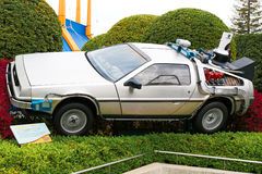 Back to the Future DeLorean Royalty Free Stock Images