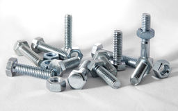 Back To Nuts And Bolts Stock Photo