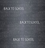 Back to school � seamless pattern Stock Image