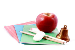 Back to school. School is about to begin, tools needed Stock Images