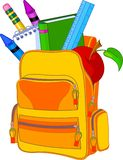 Back to School. Image concept. All objects are grouped and layered for easy editing Stock Photos