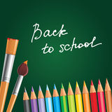 Back to school. Illustration Royalty Free Stock Photography