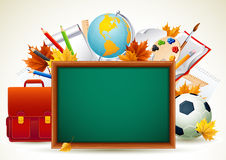 Back to school. Vetor illustration - Back to school background stock illustration