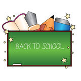 Back to school. For schools, occasions and background Stock Photography