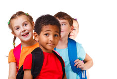Back to school. Kids ready back to school Royalty Free Stock Photography