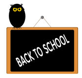 Back to School. Concept illustration Royalty Free Stock Images