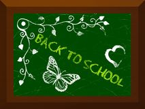 Back to school. Abstract illustration texture for web templates or banners with back to school theme Stock Image