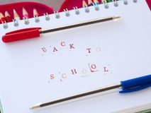 Back to school again Stock Photo
