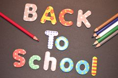 Back to school as background royalty free stock image