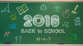 Back to School 2018 Stock Images