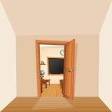 Back to School Backdrop Classroom vector illustration