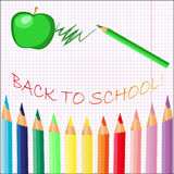 Back to school background. Beautiful artwork suitable for greeting card, posters, books Royalty Free Stock Images
