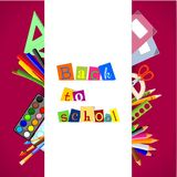 Back to school - background Stock Images