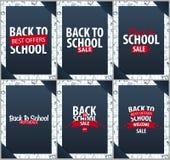 Back to School background. Education banner. Vector illustration. Stock Image
