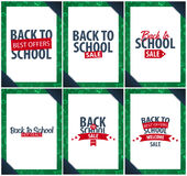 Back to School background. Education banner. Vector illustration. Back to School background. Education banner. Vector illustration Royalty Free Stock Photos