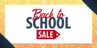 Back to School background. Education banner. Vector illustration. Back to School background. Education banner. Vector illustration Stock Photo
