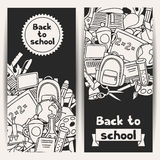 Back to school background with education hand Royalty Free Stock Photo