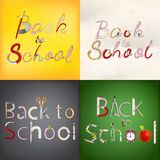 Back to school background. EPS 10 Royalty Free Stock Photography