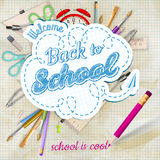 Back to school background. EPS 10 Stock Photography