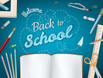 Back to School background. EPS 10 Royalty Free Stock Image