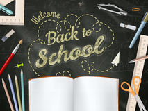 Back to School background. EPS 10 Stock Photos