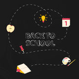 Back to school background. Royalty Free Stock Image