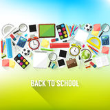 Back to school background Royalty Free Stock Photography