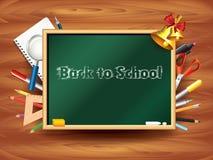 Back to school background  illustration Stock Images