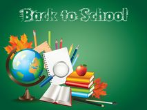 Back to school background  illustration Royalty Free Stock Photography