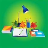Back to school background - Illustration Royalty Free Stock Photo